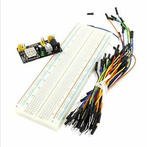New Mb 102 Solderless Breadboard Protoboard 830 Tie Points 2 Buses Test Circui