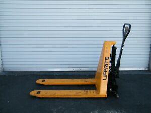 Lift Rite 3000 Lb Electric High Lift Pallet Jack Scissor Fork Truck Tool Die 30