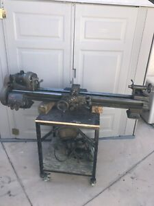 South Bend 9a 644 R Model A Lathe With 4 1 2 Ft Bed For Parts Or Repair