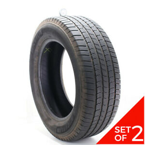 Set Of 2 Used 275 60r20 Michelin Defender Ltx M S 115t 7 32