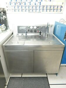 240 V Industrial Branson Ultrasonic Parts Cleaner Washer Sonogen Model H 100