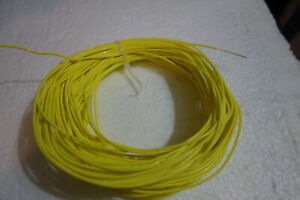 100 Ft 20 Awg Mil Spec M22759 11 Stranded Yellow 600v Silver Plated Teflon Wire