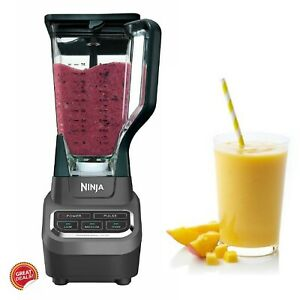 Commercial Smoothie Blender Ice Crusher High Power Personal Machine Electric New