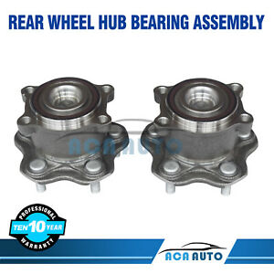 2 Rear Wheel Bearing Hub Fits Nissan Altima Maxima Fwd 2009 2010 2011 2018