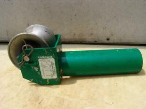 Greenlee 441 4 Inch Feeding Sheave Cable Wire Tugger Puller 5