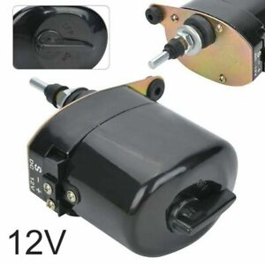 Universal Black Windshield Wiper 12v Motor For Willys For Jeep Tractor 01287358