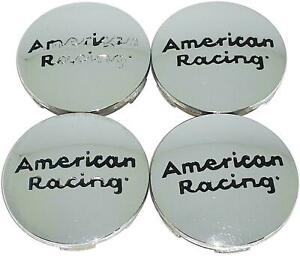 American Racing Small Chrome Wheel Center Caps Ar883 56691775f 1 4pc Set