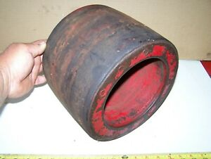 Old International Harvester 10 Inch Belt Pulley H M W4 W6 W9 300 400 450 Nice