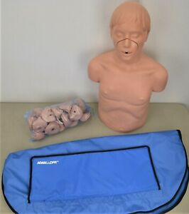 Simulaids Adam Cpr Adult Airway Torso Manikin W Training Mouthpieces
