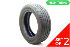 Set Of 2 Used 275 55r20 Michelin Ltx M s2 113h 8 9 5 32