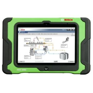 Esi Truck Hd Diagnostic Solution With Hds 1000 Tablet Bos3824a Brand New