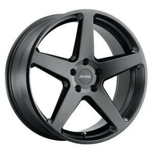 Petrol P2c Rim 17x8 5x115 Offset 40 Semi Gloss Black Quantity Of 4