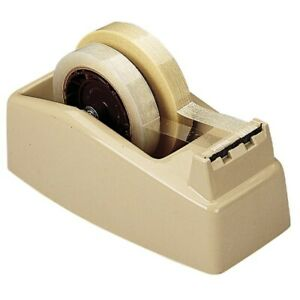Heavy duty 2 Roll Dispenser Up To 2 Wide Weighted Beige