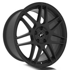 Forgestar F212 Cf5 Dc 19x10 5x114 3 42et Satin Black Wheel