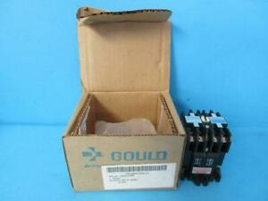 Brand New Gould Ite Control Relay J11 J11c2012 110 120 Coil Volt 2 pole Latching