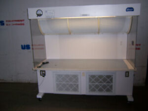 11604 Sterilaire Medical Horizontal Laminar Flow Hood 6 72 x 28 X 36 High
