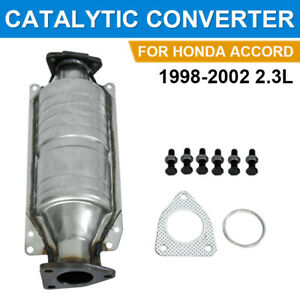 Direct Fit Catalytic Converter For 1998 1999 2000 2001 2002 Honda Accord 2 3l Us