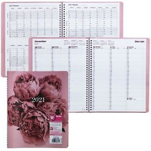 2021 Brownline Cb950 pnk Pink Weekly Appointment Book 8 1 2 X 11