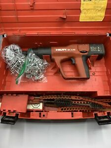 Hilti Dx A40 Powder Actuated Fastening Gun W Case And Accessories Used Tt352