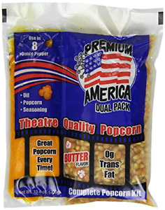 Great Western Premium America Dual Pack Popcorn 10 6 Ounce pack Of 24