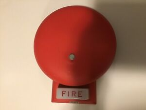 Wheelock 46t g6 24 ws Red Bell Strobe Combo Fire Alarm Notification