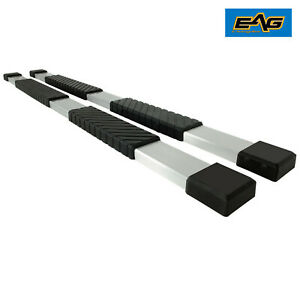 Eag 80 Side Step Running Boards Bracket For 07 18 Toyota Tundra Double Cab