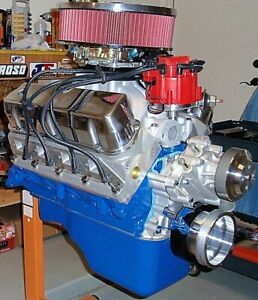 Ford 347 Stroker 495 Horsepower Crate Engine Pro built New 5 0 302 331 Sbf