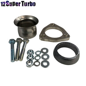 2 1 4 Semi Direct Fit Exhaust Flared Y Pipe Triangle Flange Repair Kit