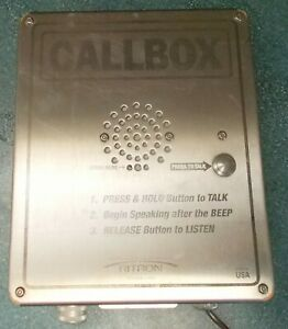 Outpost Callbox Ritron Rqx 156 xt Outdoor Enclosure 1 Channel 1 Watt 6 series