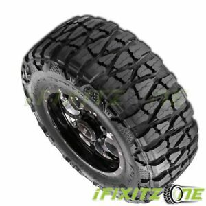 1 Nitto Grappler 35x12 50r17 125p E10 Extreme Terrain Off Road Truck Mud Tires