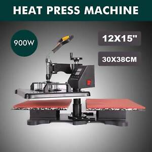 30x38cm Double Station Sublimation Transfer Printing Heat Press Machine 12x15