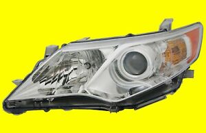 Left Headlight For Toyota Camry 2012 2014 L Le Xle Hybrid 8115006470 To2502211