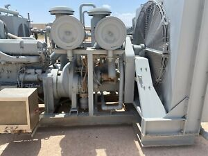 Air Compressor Package Sullair Runs Good Pessco Is Offering 1 Preowned 72120 1