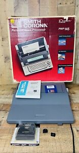 Smith Corona Pwp 145 Portable Word Processor Electronic Typewriter Works