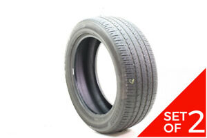 Set Of 2 Used 265 50r20 Bridgestone Ecopia H L 422 Plus 107t 5 5 32
