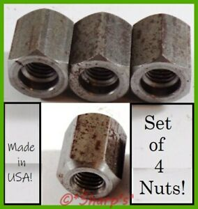 A1892r John Deere A B G H 50 730 M Mt 40 Implement Nuts Set Of 4 Usa Made