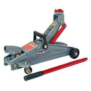 Pro Lift F 2332 Grey Hydraulic Floor Jack 2 Ton Capacity