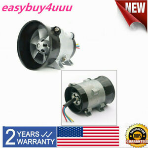 12v For Car Electric Turbine Power Turbo Charger Boost Air Intake Fan control