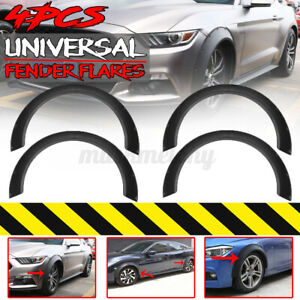 4pcs Fender Flares 3 9 Extra Wide Body Wheel Arches For Ford Mustang Focus Rs