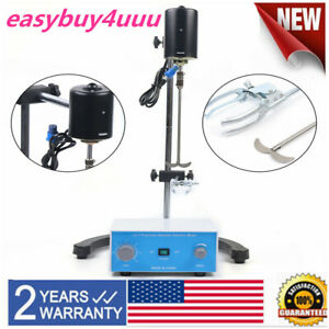 Electric Overhead Stirrer Lab Mixer Agitator High Accuracy Great Functions 110v