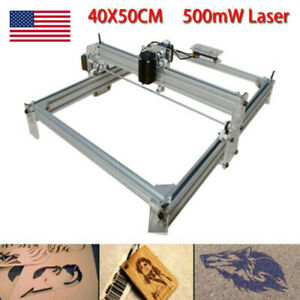 Cnc Router Mini Laser Engraver Diy Wood Milling Drill Carving Machine 500mw Usa