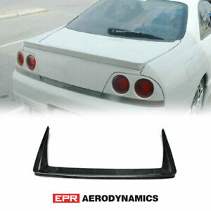Carbon Glossy Dri Style Body Kit Fit For Nissan Skyline R33 Wing Rear Spoiler