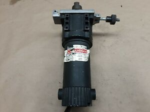 Colourmate Bison Gear 011 332 Gear Motor 1 8 Hp 64 Rpm 28 1 90vdc 20b59pr3