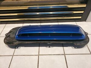 2002 2003 Subaru Impreza Wrx Rally Blue Hood Scoop With Vent Shroud Support