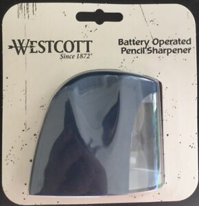 Westcott Battery Operated Pencil Sharpener Powerful Pencil Sharpener