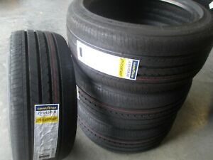 4 New 235 45r18 Inch Goodyear Efficient Grip Tires 235 45 18 R18 45r 2354518