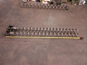 Kitamura Cnc Vertical Mill Lathe 78 X 4 Inch Chip Auger With Base Each 1