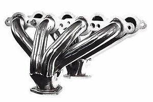 Chevy Ls1 Ls6 Block Hugger Stainless Steel Shorty Exhaust Headers