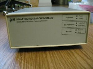 Srs Stanford Research Fs725 Rubidium Frequency Standard With Gps Module