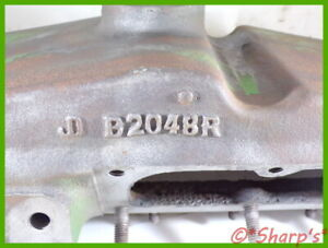B2048r John Deere B Upper Radiator Tank Genuine Original No Broken Bolts